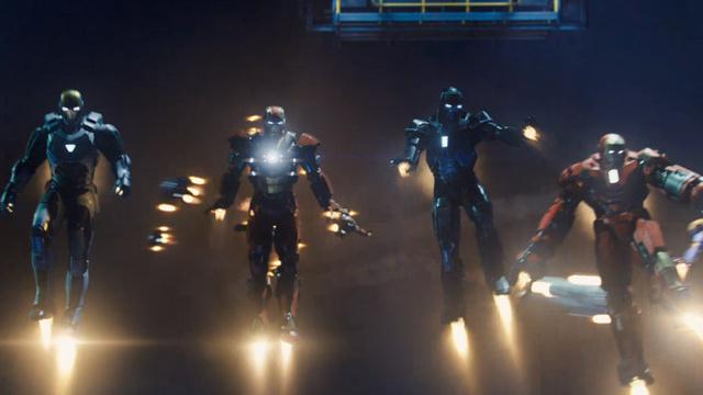 Iron Man Crew shot