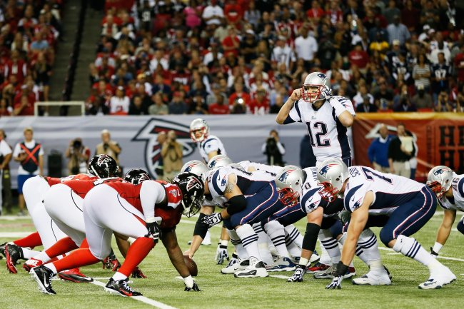 Tom Brady over Falcons