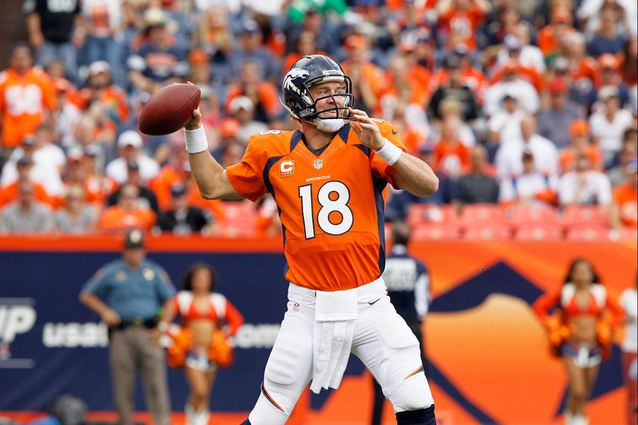 Peyton Manning Week 4 vs Raiders 2012