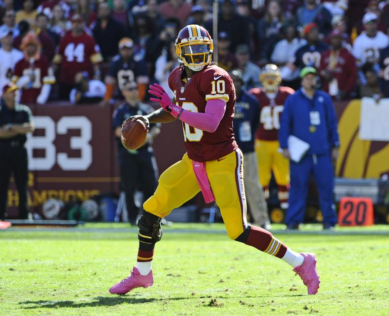 RG3 rollout