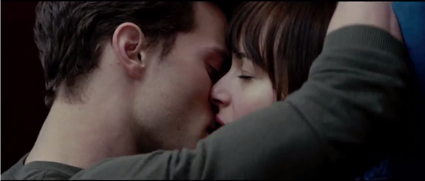 """Still image from the """"Fifty Shades of Grey"""" trailer"""