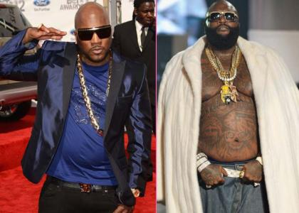 The Fight Between Young Jeezy Amp Rick Ross On Tape Video
